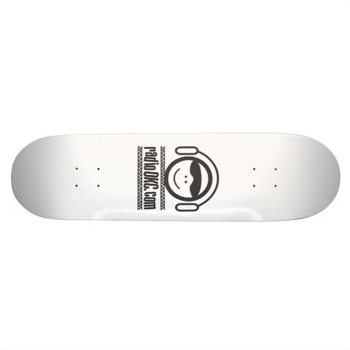 Patinador de radio de OKC Skate Boards