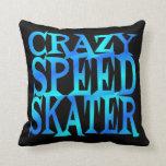 Patinador loco de la velocidad almohadas