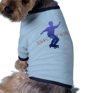 patinador camisetas de mascota