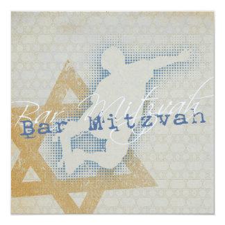 Patinador urbano - invitación de Mitzvah de la