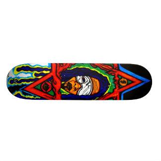 Patinador urbano skate board