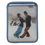 Patinadores de hielo románticos del vintage mangas de iPad