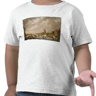 Patinadores en un canal congelado, 1779 camisetas