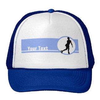 Patinaje artístico azul gorras
