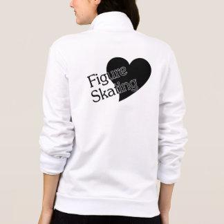 Patinaje artístico el amor - la chaqueta de las mu