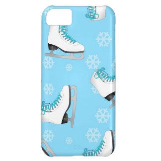 Patinaje artístico - patines de hielo azules con l