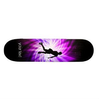 Patinaje artístico púrpura patín personalizado
