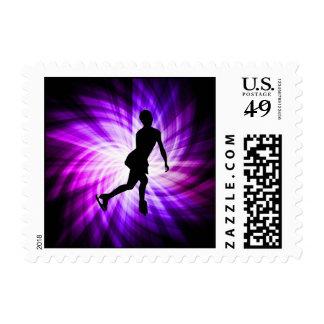 Patinaje artístico púrpura envio