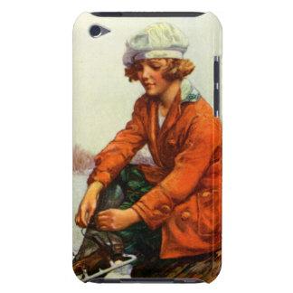 Patinaje de hielo 1915 iPod touch Case-Mate funda