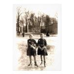 Patinaje de hielo de 1925 novias anuncios