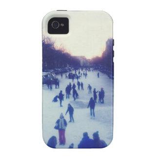 Patinaje de hielo en el canal Case-Mate iPhone 4 carcasa