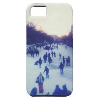 Patinaje de hielo en el canal iPhone 5 Case-Mate funda
