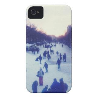 Patinaje de hielo en el canal Case-Mate iPhone 4 protector