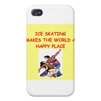 patinaje de hielo iPhone 4/4S funda