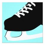patinaje de hielo invitación 13,3 cm x 13,3cm