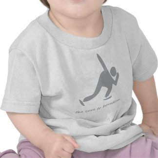 Patinaje ..... la curación al aburrimiento camisetas