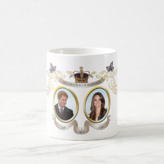 Patinazo de las tazas de Harry y de Kate