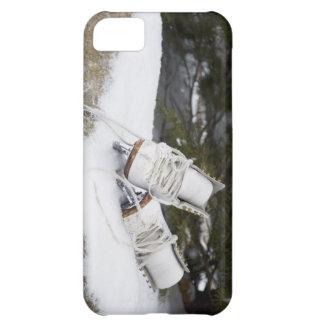 Patines de hielo, figura patines en nieve funda para iPhone 5C