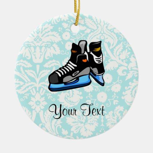 Patines del hockey; Damasco Adorno Para Reyes