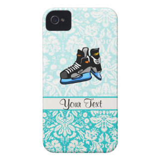 Patines del hockey; Damasco Case-Mate iPhone 4 Protectores