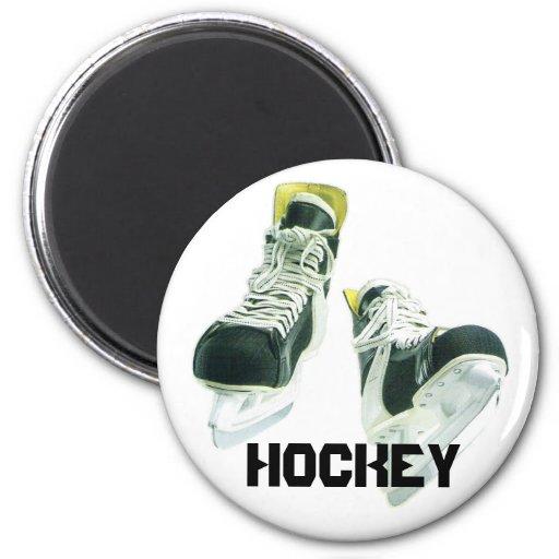 Patines del hockey imán redondo 5 cm