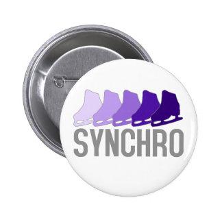Patines sincrónicos pin