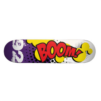 Patineta BOOM COMIC EFECT Skateboard Deck