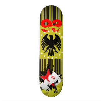 Patineta Eagle Yellow Black Network Skateboard