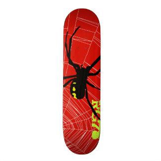 Patineta Spider & Red Wb Skateboard Deck