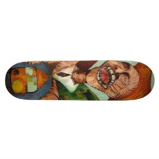 Patineta transnational phenomenon skateboard deck