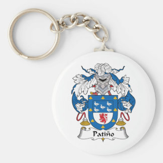 Patino Family Crest Keychain