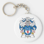 Patino Family Crest Keychains