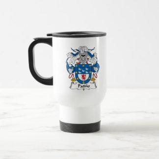 Patino Family Crest Coffee Mug