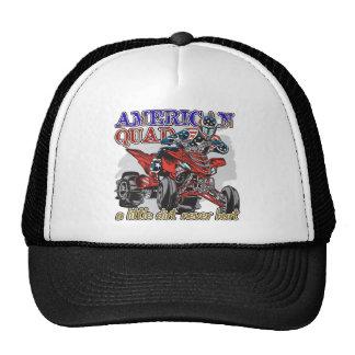 Patio americano gorras de camionero