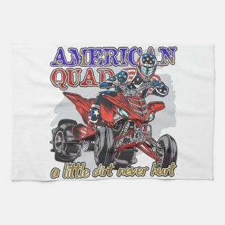 Patio americano toalla de cocina