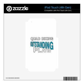 PATIO BIKING EL JUGADOR EXCEPCIONAL iPod TOUCH 4G SKINS