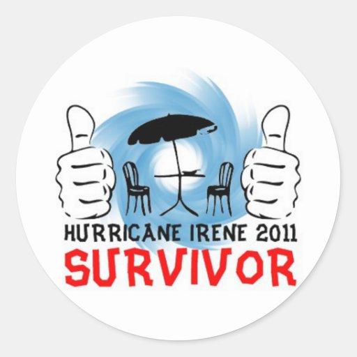 Patio Chairs Survived Hurricane Irene 2011 Sticker