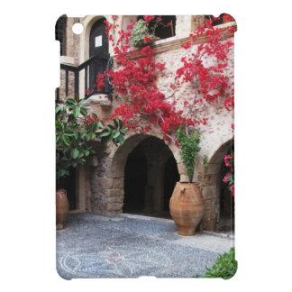 Patio CRETA GRECIA de la iglesia del monasterio de