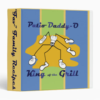 Patio Daddy-O King of the Grill Recipe Binder