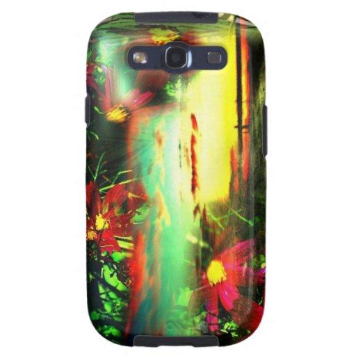 """Patio de la galaxia S3 caso """"Liliana """" de Samsung Galaxy SIII Coberturas"""