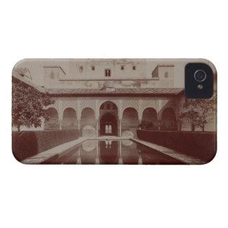 Patio de los Arrayanes, Alhambra, c.1875-80 (sepia Carcasa Para iPhone 4 De Case-Mate