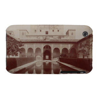 Patio de los Arrayanes, Alhambra, c.1875-80 (sepia Funda Para iPhone 3