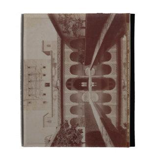 Patio de los Arrayanes, Alhambra, c.1875-80 (sepia iPad Folio Cover