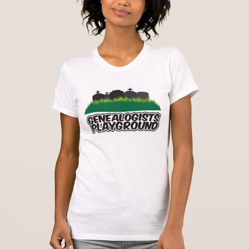 Patio de los Genealogists Camiseta