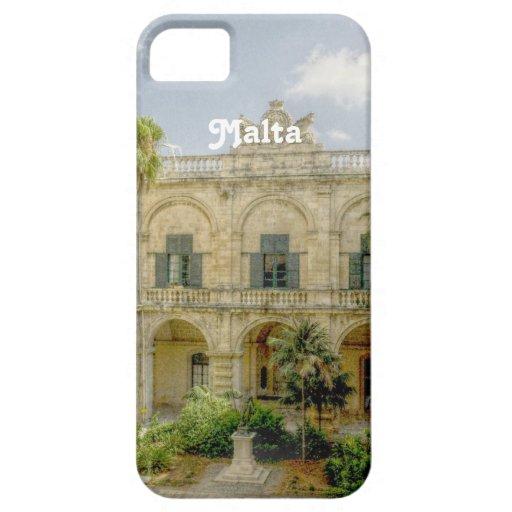Patio de Malta iPhone 5 Funda