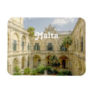 Patio de Malta Imán Rectangular