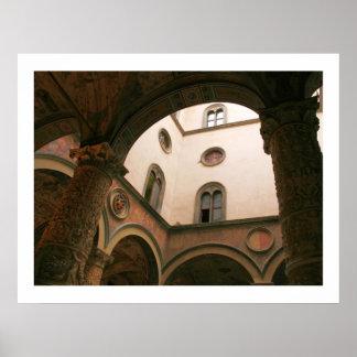 Patio de Palazzo Vecchio Impresiones