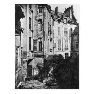 Patio de Rohan, París, 1858-78 Postal