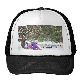 patio de s en la nieve gorras de camionero