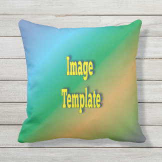 Patio Deck Customize Create Your Own Outdoor Pillow